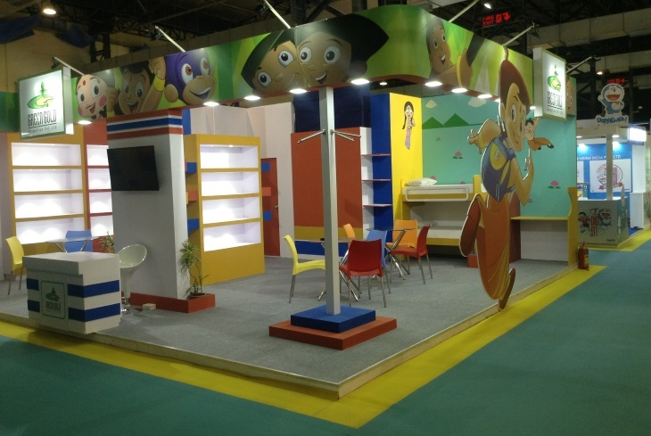 Exhibition Stall Rental : Palvekar exhibition stall designer and fabricator